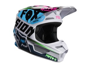 Kask FOX V-1 Czar light grey junior