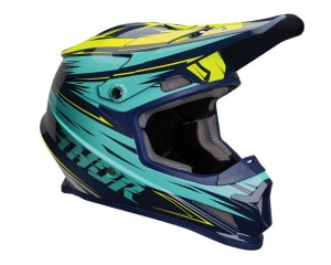 Kask Thor S20 Sector Warp navy/teal senior