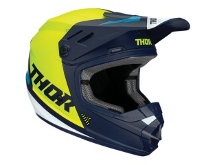 Kask Thor S20Y Sector Blade navy/acid junior