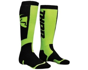 Skarpetki Thor S8 MX black/lime junior