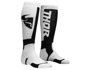 Skarpetki Thor S8 MX white/black junior