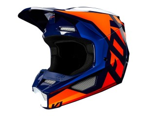 Kask FOX V-1 Lovl orange/blue senior