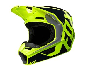 Kask FOX V-1 Lovl black/yellow senior