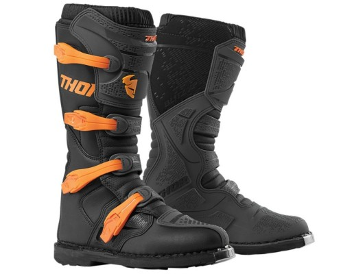 Buty Thor Blitz XP charcoal/orange senior